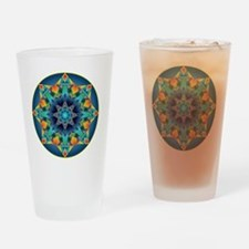 Cool Fractals Drinking Glass