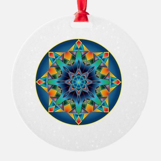 Cute Fractals Ornament
