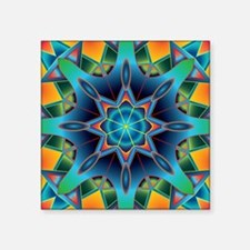 "Cute Fractals Square Sticker 3"" x 3"""