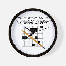 time spent doing crossword Wall Clock