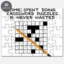 time spent doing crossword Puzzle