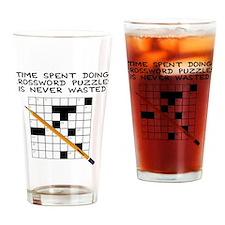 time spent doing crossword Drinking Glass