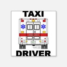 """Cute Life highway Square Sticker 3"""" x 3"""""""