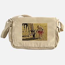 Unique Rocky mountain horse Messenger Bag