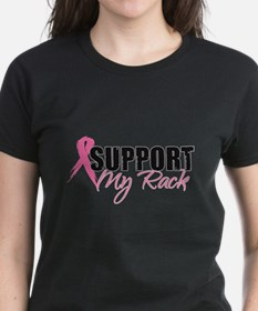 Funny Fight canine cancer women Tee