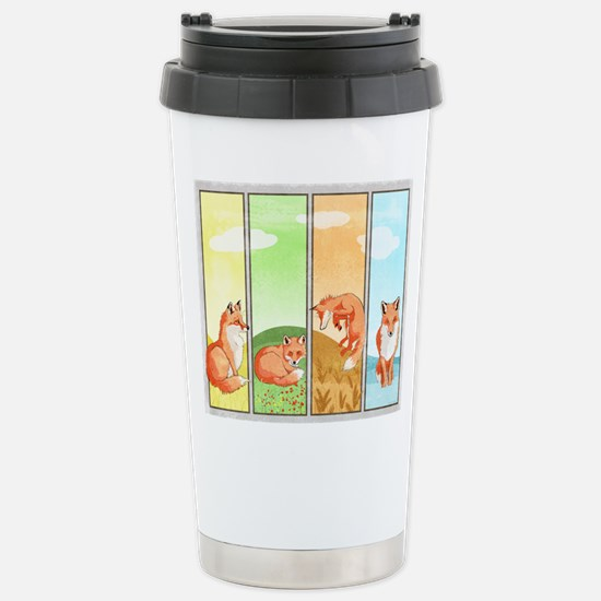 Season of the Foxes Travel Mug