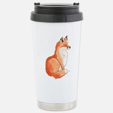 Sitting Fox Travel Mug