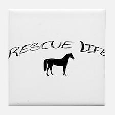 Rescue Life Horse Tile Coaster