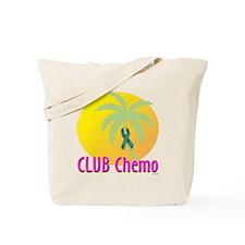 Club Chemo-Ovarian Cancer Tote Bag