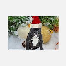 Cute Ceramic dogs Rectangle Magnet
