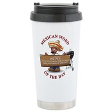 Unique Mexicans Travel Mug