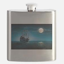 Moonlight Pirates Flask