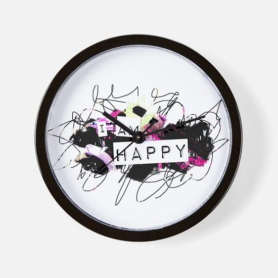 i am happy Feel Good.Be Happy.Tell the Wall Clock