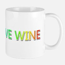 Peace Love Wine Mugs
