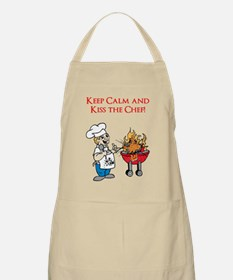 Keep Calm And Kiss The Chef! Apron