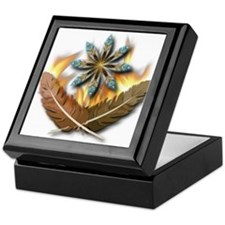 native Feathers Keepsake Box
