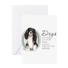 Cavaliers Make Lives Whole Greeting Card