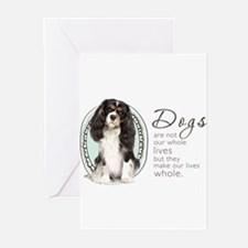 Cavaliers Make Lives Who Greeting Cards (Pk of 10)
