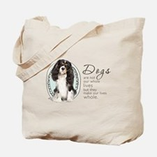 Cavaliers Make Lives Whole Tote Bag