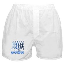 RUN FOR YOUR LIFE Boxer Shorts