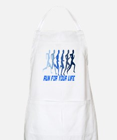 RUN FOR YOUR LIFE BBQ Apron