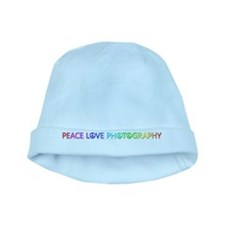 Peace Love Photography baby hat