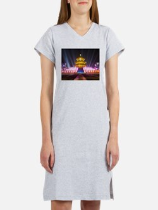 Illuminated Temple of Heaven Re Women's Nightshirt