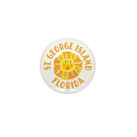 St. George Island Sun - Mini Button (10 pack)