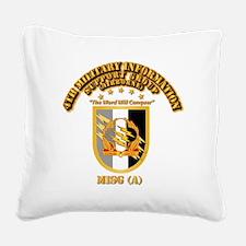 4th MISG (A) Square Canvas Pillow