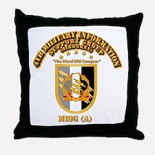 4th MISG (A) Throw Pillow