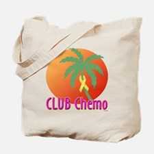 Club Chemo Liver/Bladder Tote Bag