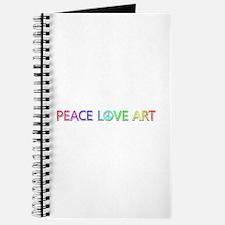 Peace Love Art Journal