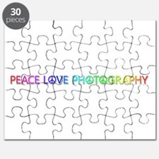 Peace Love Photography Puzzle