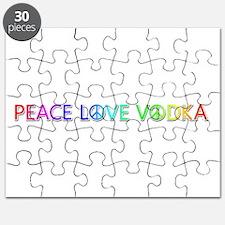 Peace Love Vodka Puzzle