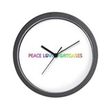 Mortgages Wall Clocks