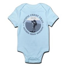 Unique Oregon trail Infant Bodysuit