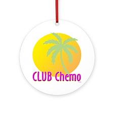 Club Chemo Ornament (Round)