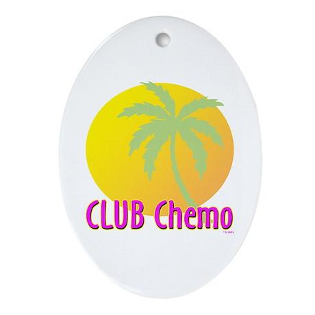Club Chemo Oval Ornament