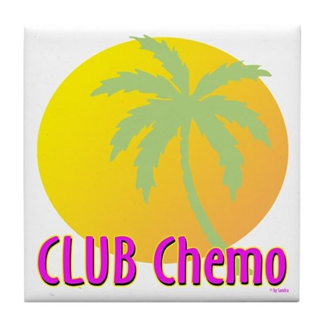 Club Chemo Tile Coaster