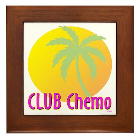 Club Chemo Framed Tile