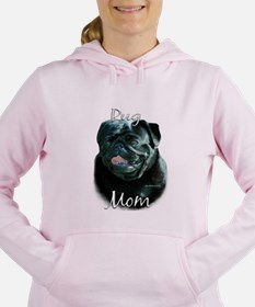 Cute Chinese pug Women's Hooded Sweatshirt
