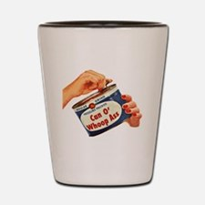 Can of Whoop Ass Shot Glass