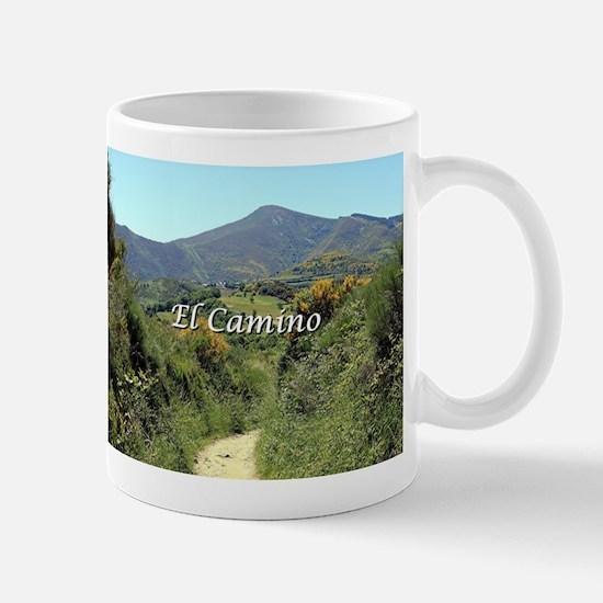 Mountains on El Camino near O'Cebreiro, Spain Mugs