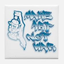 Cute Spray Tile Coaster