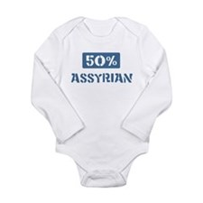 Funny Locations Long Sleeve Infant Bodysuit