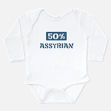 Unique Percent Long Sleeve Infant Bodysuit