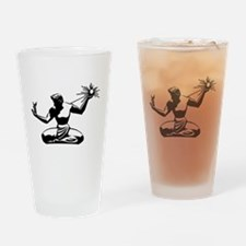 Spirit of Detroit Drinking Glass