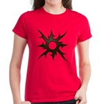 Tribal Solar Thorns Women's Dark T-Shirt