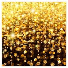 Luxurious Glamorous Sparkle Glitter Bling Wall Art Poster