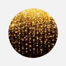 Luxurious Glamorous Sparkle Glitter Bling Button